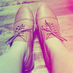 My new oxford shoes ^^