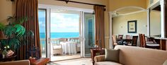 Point Grace: All suites have tastefully decorated indoor/outdoor spaces.