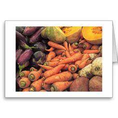 """Are you a foodie? Here's a treat from award-winning artist Paul McGehee! """"Nature's Bounty"""" is a color pencil work done at the food market on the Caribbean island of Nevis. You'll love this unique note card! Each card comes with envelope. Colored Pencils, Note Cards, Caribbean, Envelope, Treats, Island, Vegetables, Unique, Artist"""