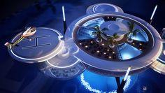 deep ocean technology: water discus underwater hotel