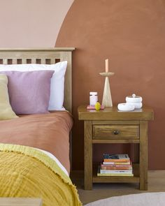 Create warmth and comfort with autumnal hues in interiors this season. Think terracotta, russet, burnt orange, ochre, mustard, and blush pink. These earthy tones are a great way to create a grounded feel in your home and to make it feel extra cosy.  #earthycolours #autumncolours #homeinteriors #autumndecor Pink Cushions, Pink Bedrooms, Pink Bedding, Home Decor Trends, Decor Ideas, Bedroom Decor, Bedroom Ideas, Cosy, Autumnal