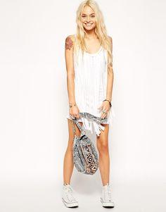 $42 - Enlarge ASOS Fringed Jersey Beach Dress