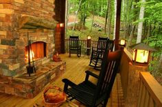 Porch fireplace, what else can I say :)