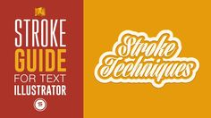 ILLUSTRATOR STROKE TECHNIQUE - ILLUSTRATOR DOUBLE STROKE TIP - ⓣⓤⓣⓞⓡⓘⓐⓛ Illustrator Text Effects - YouTube