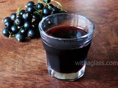 Blackcurrant vodka - great idea for using some of the black currants from the allotment