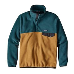 7TH: Patagonia M's Lightweight Synchilla® Snap-T® Pullover, Oaks Brown (OKSB) Size Medium