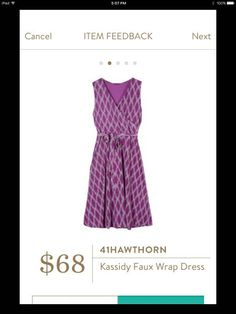 41 Hawthorn Kassidy Faux Wrap Dress