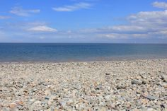 Pebble beach #summer #beach #ocean #wales