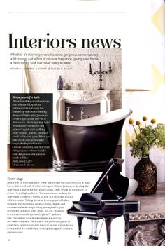 Luxury bathroom manufacturers Drummonds, have teamed up with award winning designer Christopher Jenner for a series of creative collaborations including two showroom designs and a collection of bathroom furniture drummonds-uk.com The Cheshire Magazine May 2014