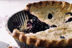 If you've never had pie made from wild blueberries before, you'll be bowled over by the intensity of this one. The light, tender crust provides a sublime foil for the deeply flavorful fruit. Take heart if you can't find fresh wild blueberries in your area—frozen ones also yield excellent results.