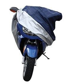 Pilot CC-6334 Blue/Silver X-Large Motorcycle Cover, Motorcycle Covers