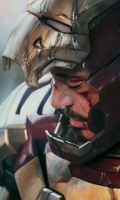 Genius billionaire inventor, industrialist, and CEO of Stark Industries Tony Stark builds an armored suit and becomes the armor-clad superhero named Iron Man. Iron Man Avengers, Marvel Avengers, Hero Marvel, Marvel Art, Marvel Dc Comics, Marvel Wallpapers, Avengers Wallpaper, Ironman Wallpaper Iphone, Iron Man Wallpaper