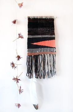 Wedge - Handmade Woven Tapestry