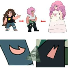 Greg and Rose as a FUSION!!!!!! No way! Whoever made this, your awesome!!!!