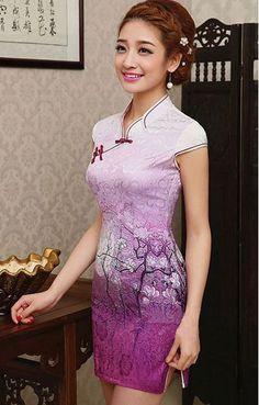 Cheongsam Dress OBN8877PU