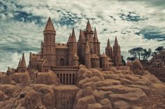 Sandcastles in the sky by Pat Charles on 500px