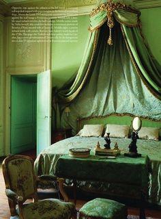 Chateau de Chales, established as a Paris museum in 1875 by Nelie Jacquemart in the Louis XVI empress style.