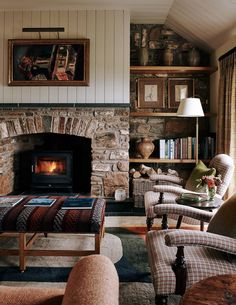 Cottage Living Rooms, Living Room Decor, Cozy Cottage, Cottage Style, Irish Cottage, Cottage Design, Estilo Cottage, Country Cottage Interiors, Country Cottages