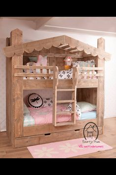 Why Choose a Bunk Bed for Your Youngster? – Bunk Beds for Kids Cheap Bunk Beds, Bunk Beds Small Room, Girls Bunk Beds, Wooden Bunk Beds, Cool Bunk Beds, Bunk Beds With Stairs, Kid Beds, Girls Bedroom, Small Rooms