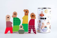 hello, Wonderful - BILU IS A MAGNETIC WOODEN TOY SET THAT ENCOURAGES KIDS BUILDING NON-STEREOTYPED CHARACTERS