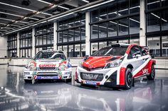 Toyota Motorsport GmbH (TMG) will return to the FIA World Rally Championship in 2017 with the Yaris WRC - a car developed and built entirely at its technical centre in Köln. Subaru Impreza Wrc, Volkswagen Polo, Toyota Corolla, S2000, Porsche, Car Magazine, Automotive News, Small Cars, Dacia Sandero