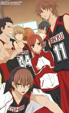 Namaikizakari Anime Style by on DeviantArt Anime Shojo, Manga Anime, Anime Art, Anime Couples Manga, Anime Guys, Anime Love, Art Manga, Manga Girl, Basketball Manga