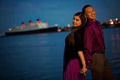 Justin and Val - MK Events Photography Queen Mary, Event Photography, Long Beach, Engagement Session, Couple Photos, Couples, Gallery, Fashion, Couple Shots