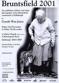 Αφίσα για την Έκθεση Φωτογραφίας από τον Gareth Jones Wyn - Bruntsfield 2001