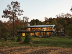 The spectacular rural vistas inspired and informed the design and ethos of this weekend home created by +VG Architects