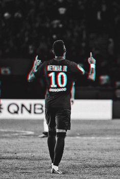 "Neymar, ""God bless us and protect us"" ☝️☝️☝️☝️ Mbappe Psg, Neymar Psg, Ronaldo Football, Football Boys, Fc Barcelona Neymar, Neymar Jr Wallpapers, Cristiano Ronaldo 7, Soccer Quotes, Soccer Stars"