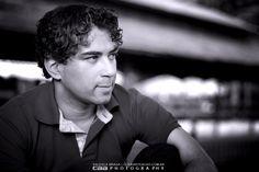 Retrato do fotografo Ronaldo Ichi fotografado pela fotografa Valesca Braga