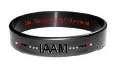 I wear my IAAM awareness bracelet each day, it never comes off! It's been a great way to help raise awareness of Autoimmune Arthritis Diseases!