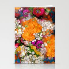 Many Colors Stationery Cards
