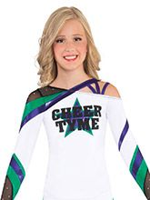 Open Shoulder Strappy Uniform Top from GK Cheer