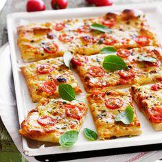 Découvrez la recette de la pizza au fromage