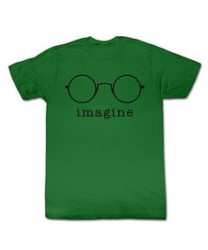 Take a look at this Green 'Imagine' Tee - Toddler & Kids by American Classics on #zulily today!