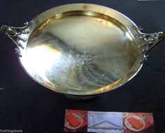 Search by seller - FineThings4sale - to view family estate items.  GORHAM MEDALLION SILVER TRAY FOOTED HANDLED TEA CAKE BREAD BASKET - CIRCA 1860's