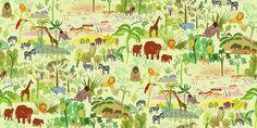 Serengeti pattern - Fototapeter & Tapeter - Photowall