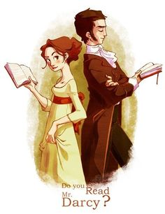 Mr Darcy and Elisabeth