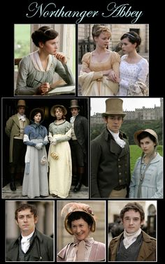 Northanger abbey - greate story and beautiful clothes
