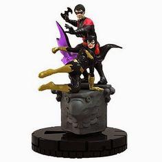 BLOG DOS BRINQUEDOS: Batman DC HeroClix Nightwing and Batgirl Duo Mini-...
