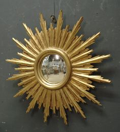 1950's vintage sunburst mirror from www.jasperjacks.com