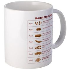 CafePress - Bristol Stool Chart - Unique Coffee Mug, 11oz Coffee Cup >>> Insider's special review you can't miss. Read more  : Coffee Mugs