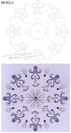 Rit Vanschoonbeek 08.011.1 borduren op papier