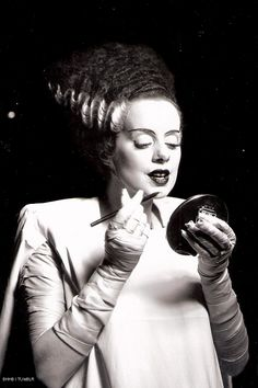 #Bride of Frankenstein #Elsa Lanchester