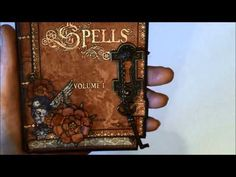 Steampunk Spells card series 1 - tutorial #graphic45 #video