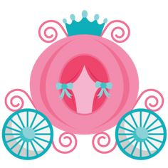 Princess Carriage SVG