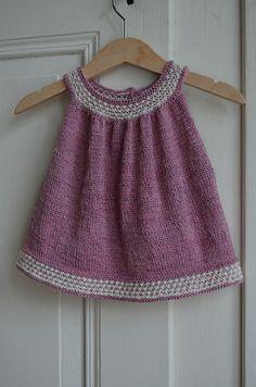 Babykleid Stricken Stricken Baby Knitting Baby Knitting