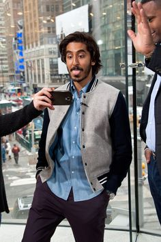 Pin for Later: The British Celebrities Who Traded Glam For Goofy in 2015 Dev Patel