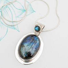 Labradorite Oval Drop Pendant | Charlotte's Web Charlotte's Web, Winter Season, Labradorite, Drop, Pendant Necklace, Jewellery, Stuff To Buy, Winter Time, Jewels